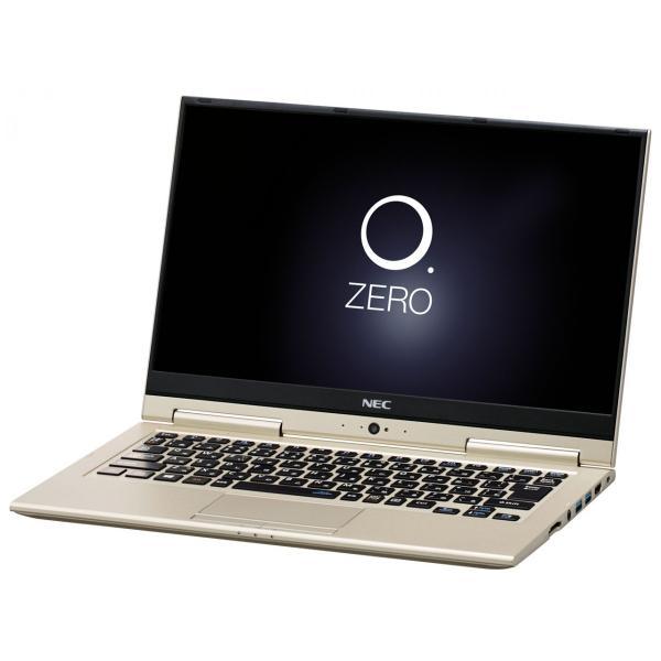 NEC PC-HZ750GAG ノートパソコン LAVIE Hybrid ZERO プレシャスゴールド [13.3型 /intel Core i7 /SSD:256GB /メモリ:8GB /2017年2月モデル]の画像