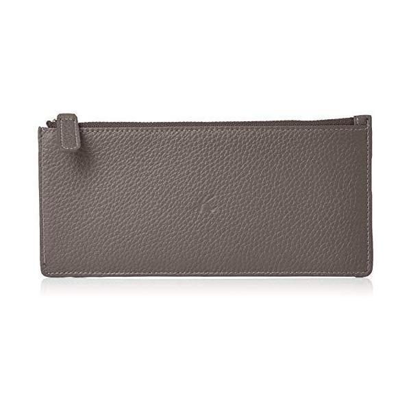 キタムラ 長財布キズが目立ちにくいシュリンクレザーZH0422グレー80801