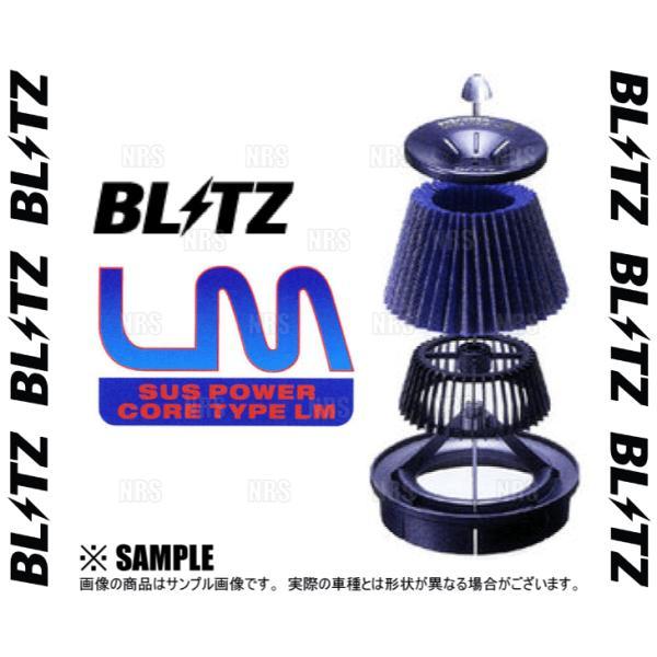 BLITZ ブリッツ サスパワー コアタイプLM (ブルー) シビック type-R FD2 K20A 07/3〜08/9 (56125