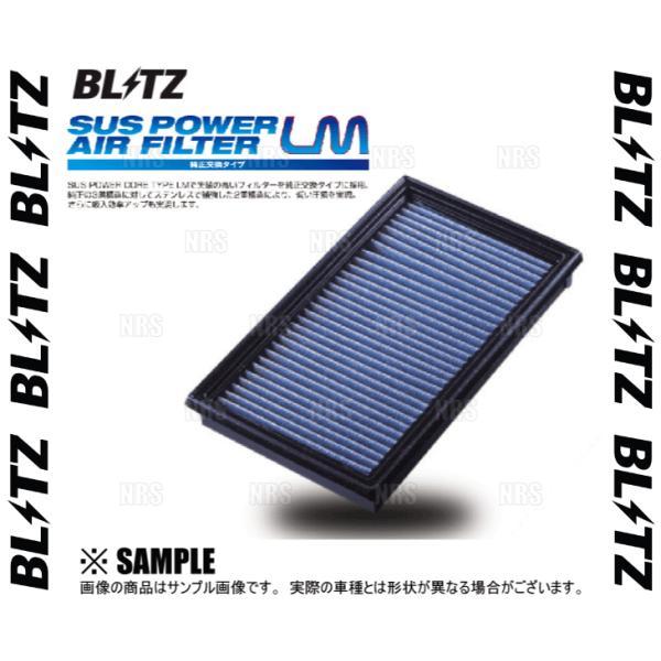 BLITZ ブリッツ サスパワー エアフィルターLM (SN-24B) 180SX S13/RS13/RPS13/KRS13/KRPS13 CA18DET/SR20DE/SR20DET 89/3〜 (59515