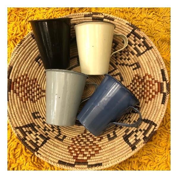 パキスタン ホーロー広口マグカップ 全7色 abracadabra 02