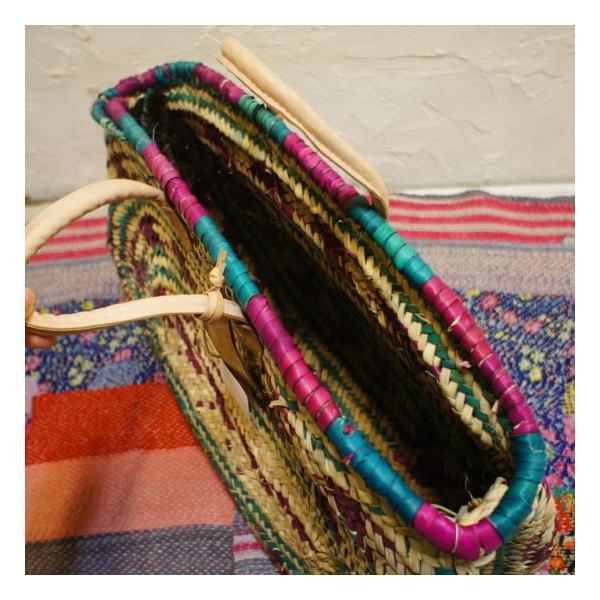 Moroccan Baskets カラフルオーバル|abracadabra|06