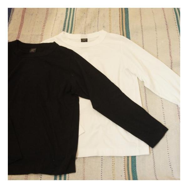 homspun (ホームスパン) 天竺長袖Tシャツ 全2色