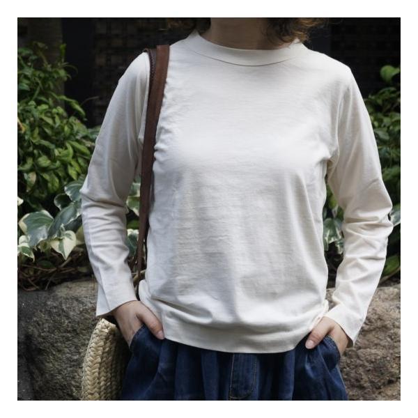 homspun (ホームスパン) 天竺長袖Tシャツ 全3色|abracadabra|02