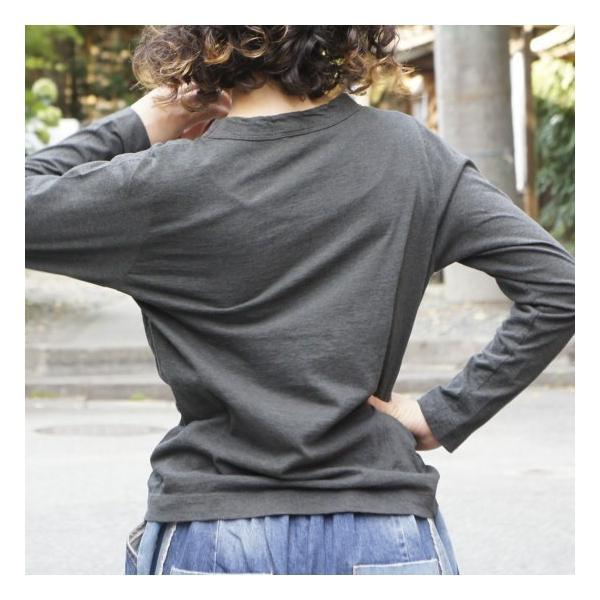homspun (ホームスパン) 天竺長袖Tシャツ 全3色|abracadabra|05
