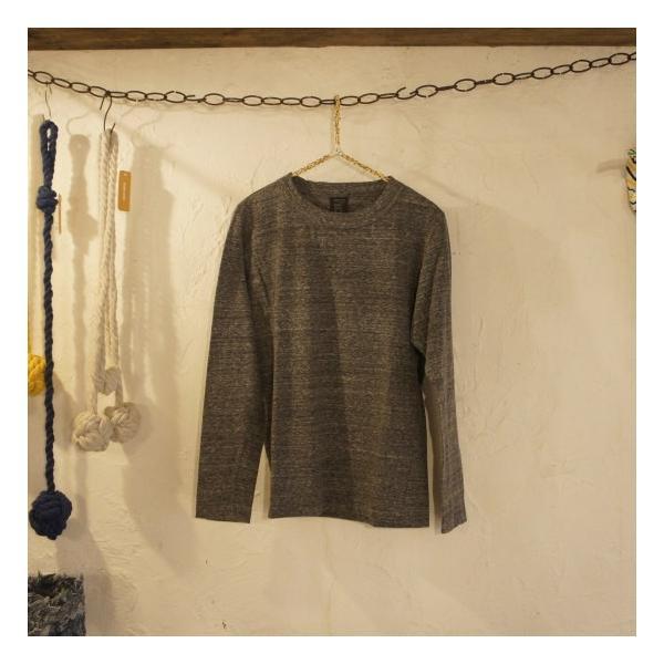 homspun (ホームスパン) 天竺長袖Tシャツ 全3色|abracadabra|07