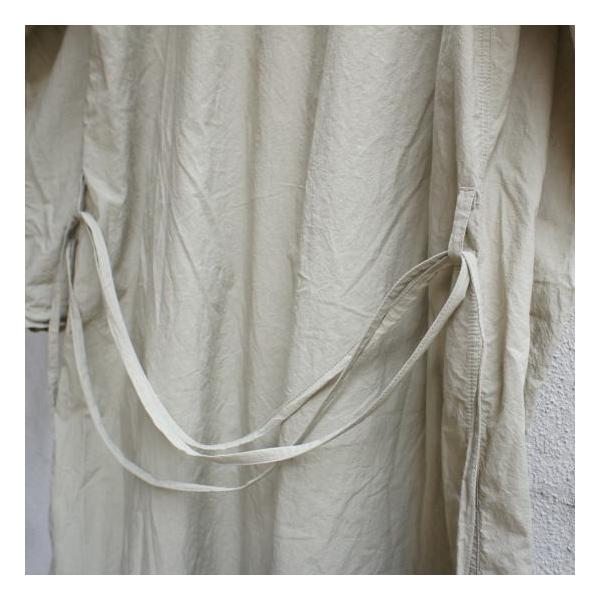 ICHI Antiquite's(イチ アンティークス) 羊飼いシャツワンピース ベージュ|abracadabra|05