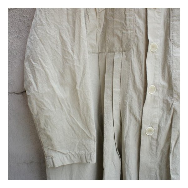 ICHI Antiquite's(イチ アンティークス) 羊飼いシャツワンピース ベージュ|abracadabra|07