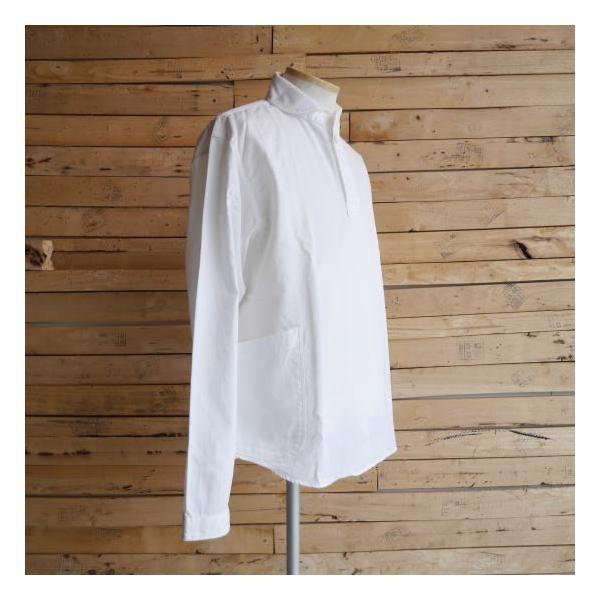 LOLO ロロ 定番プルオーバーシャツ オフホワイト LS-3|abracadabra|03
