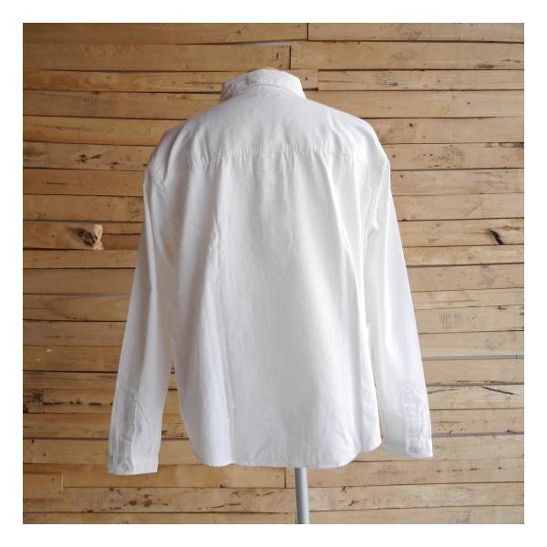 LOLO ロロ 定番プルオーバーシャツ オフホワイト LS-3|abracadabra|04
