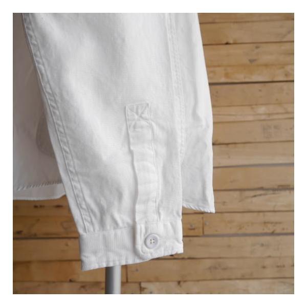 LOLO ロロ 定番プルオーバーシャツ オフホワイト LS-3|abracadabra|07