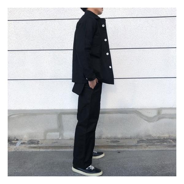 LOLO(ロロ)  モールスキンスイングポケットパンツ ブラック abracadabra 06