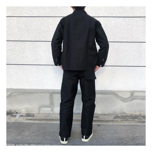 LOLO(ロロ)  モールスキンスイングポケットパンツ ブラック abracadabra 07