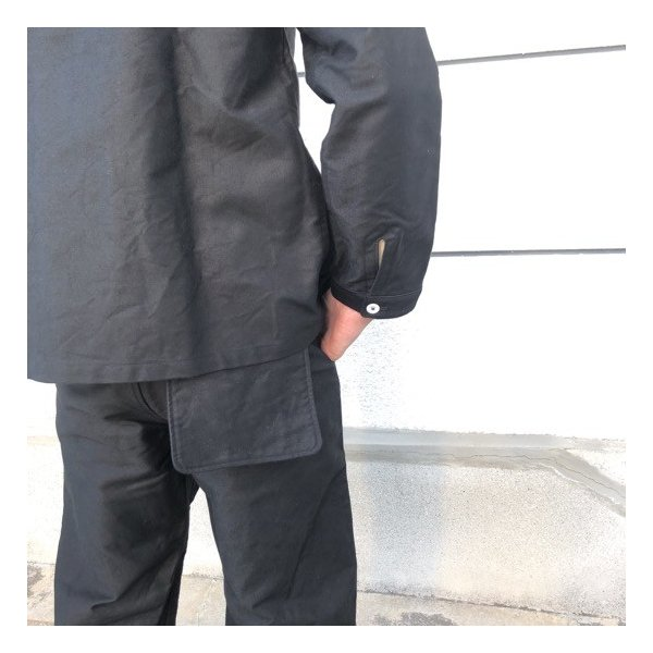 LOLO(ロロ)  モールスキンスイングポケットパンツ ブラック abracadabra 08