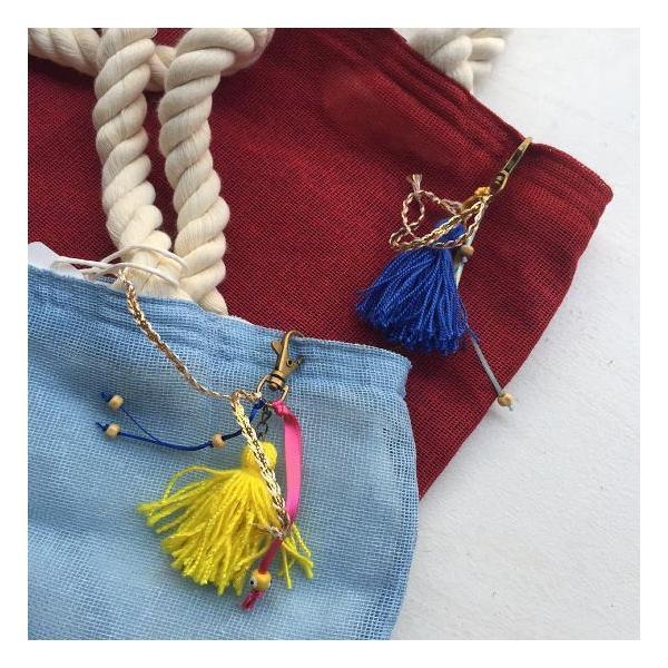 カラフルジュートビーチバッグ 全2色 abracadabra 06