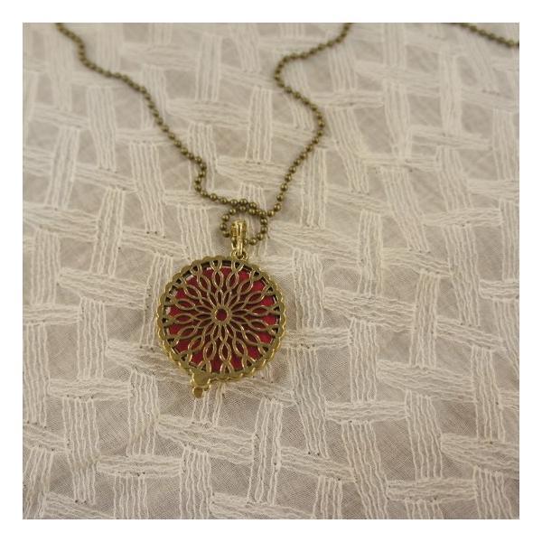 TOPANGA Accessories ディフューザーネックレス TREE OWL/A.GOLD|abracadabra|05