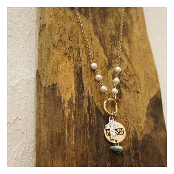 TOPANGA Accessories BLESSEDペンダント|abracadabra
