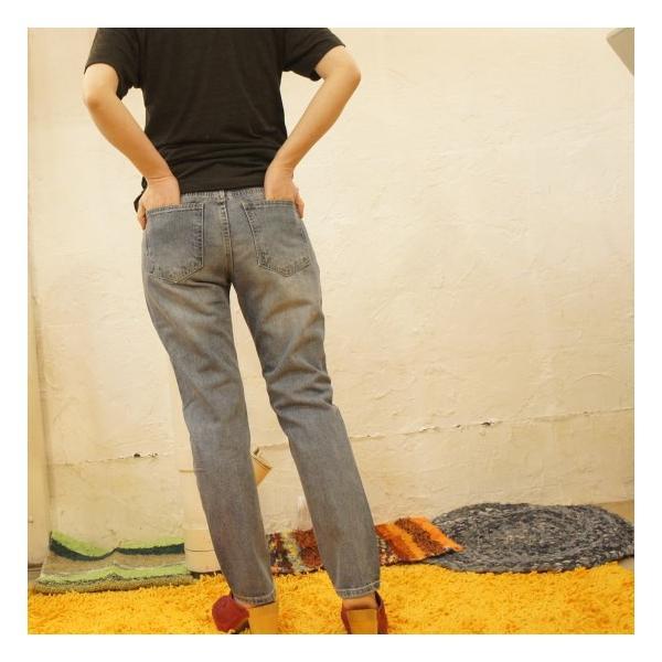 Topanga Fashion スパンコールダメージデニム|abracadabra|07