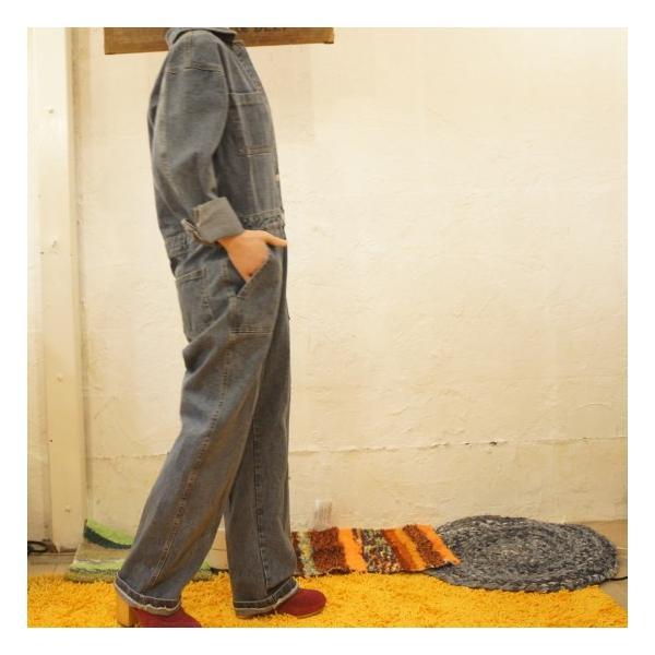 Topanga Fashion ハンサムデニムジャンプスーツ|abracadabra|02