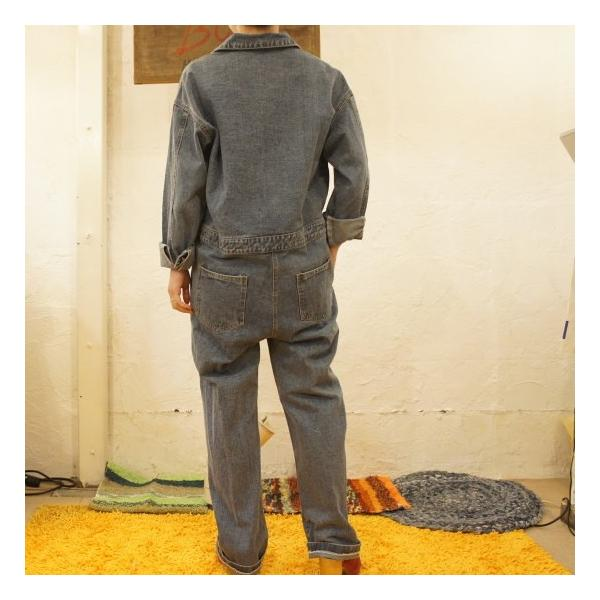 Topanga Fashion ハンサムデニムジャンプスーツ|abracadabra|03