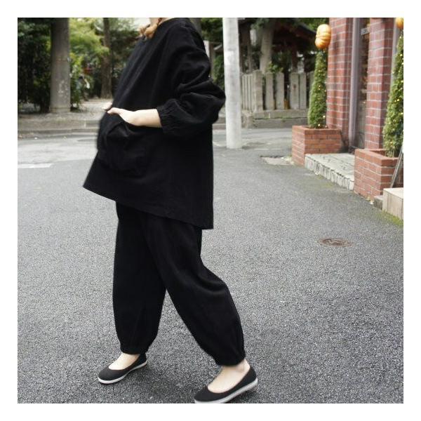 Topanga Fashion ストライプキルトロングコート ブラック|abracadabra|05