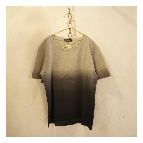 TOPANGA fashion グラデーションTシャツ グレー abracadabra 02