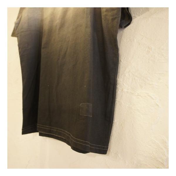 TOPANGA fashion グラデーションTシャツ グレー abracadabra 04