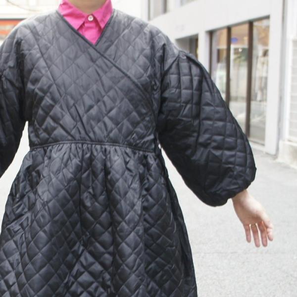 Topanga Fashion ランタンスリーブカシュクールコート