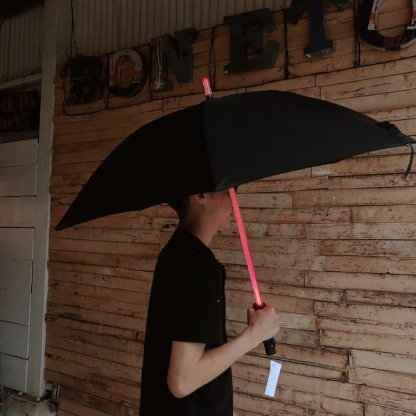 TOPANGA FASHION LEDネオン傘 ブラック
