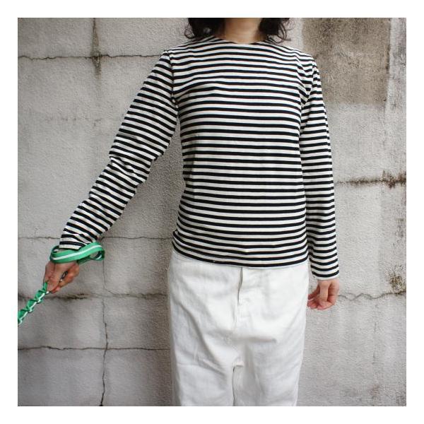ロシアンボーダーTシャツ|abracadabra|02