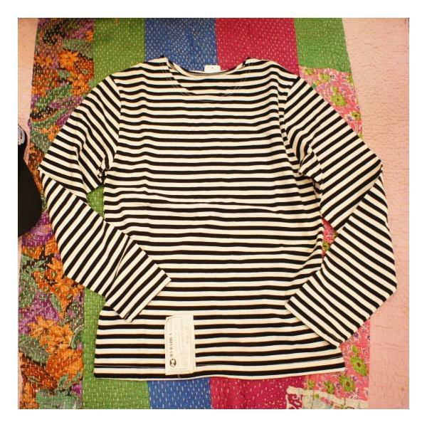ロシアンボーダーTシャツ|abracadabra|06