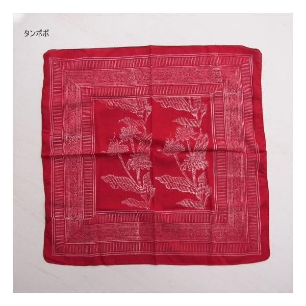 ANOKHI(アノキ) 木版染めハンカチーフ全5種類|abracadabra|04