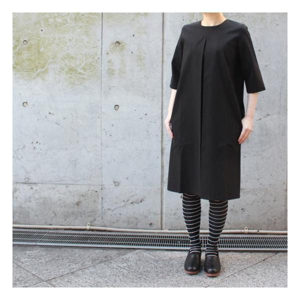 ワンタックブラックドレス|abracadabra|02
