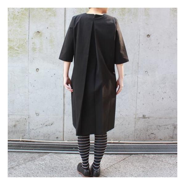 ワンタックブラックドレス|abracadabra|03