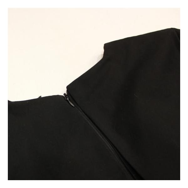 ワンタックブラックドレス|abracadabra|06