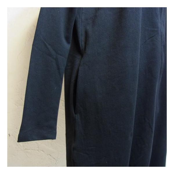 オリガミZIPPER長袖ジャンプスーツ ブラック|abracadabra|05