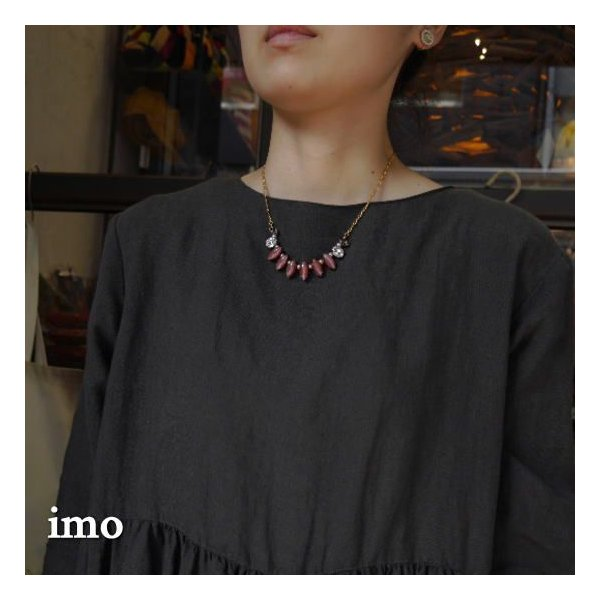imo Japan アーモンドネックレス|abracadabra|02