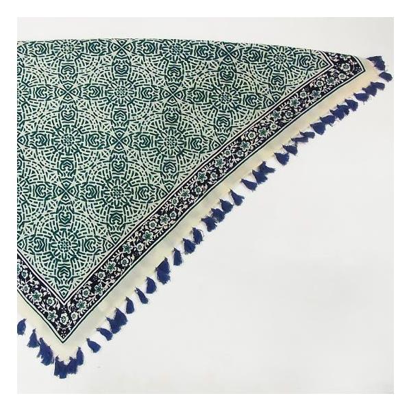 ペイズリー正方形スカーフ 全2色|abracadabra|06