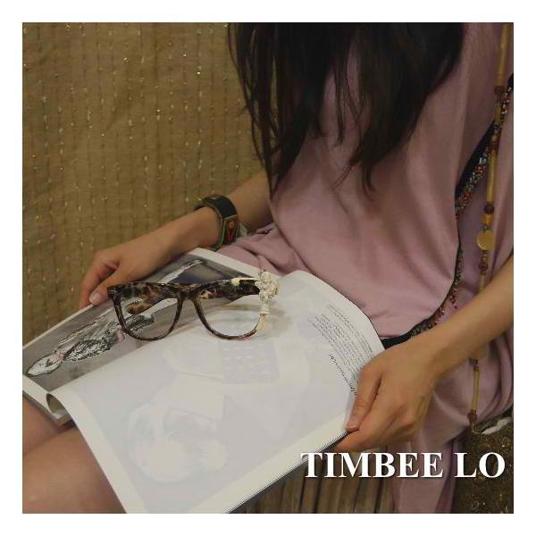 TIMBEE LO Hong Kong 天使のメガネ ブラウン|abracadabra|02