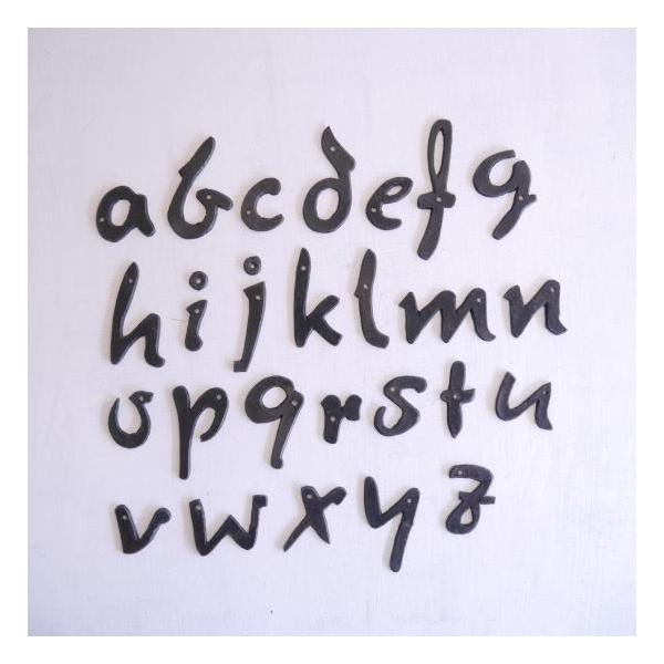 アイアン アルファベットプレート筆記体|abracadabra|06