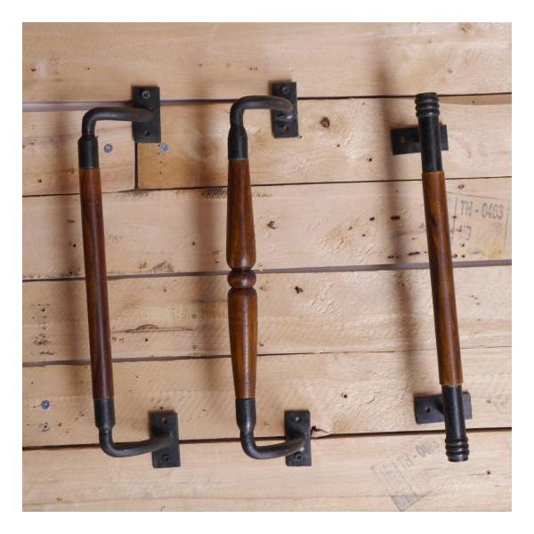 鉄と木のハンドル 全3種|abracadabra