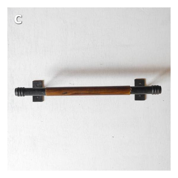 鉄と木のハンドル 全3種|abracadabra|05