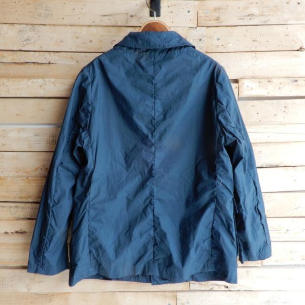 LOLO (ロロ) タイプライターカバーオールジャケット ブルー|abracadabra|06