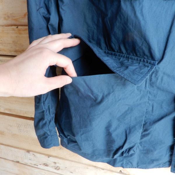 LOLO (ロロ) タイプライターカバーオールジャケット ブルー|abracadabra|08