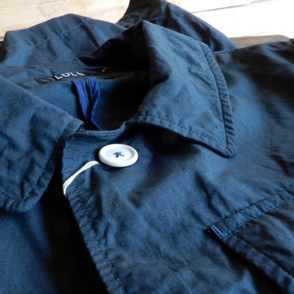 LOLO (ロロ) タイプライターカバーオールジャケット ブルー|abracadabra|10