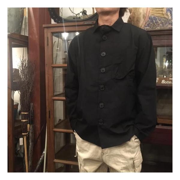LOLO デカボタンシャツ ブラック