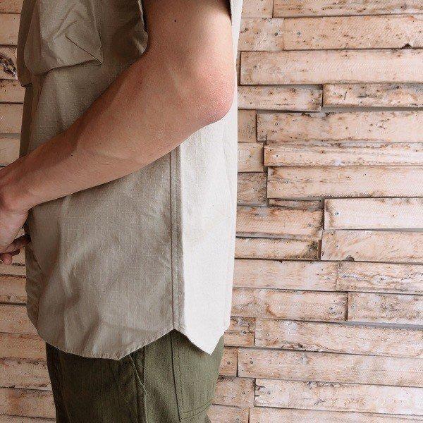 LOLO(ロロ) リップストップ半袖シャツ LS-336|abracadabra|03