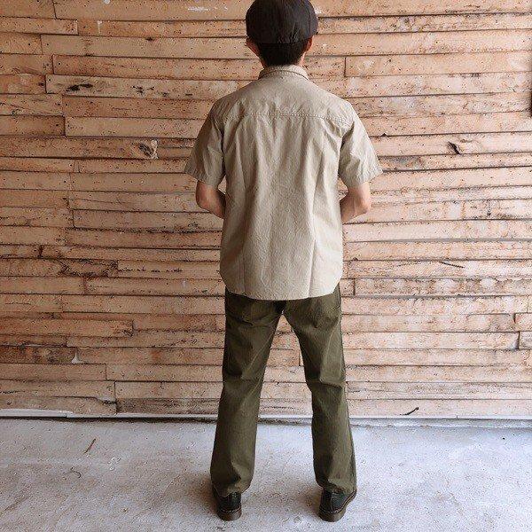 LOLO(ロロ) リップストップ半袖シャツ LS-336|abracadabra|05
