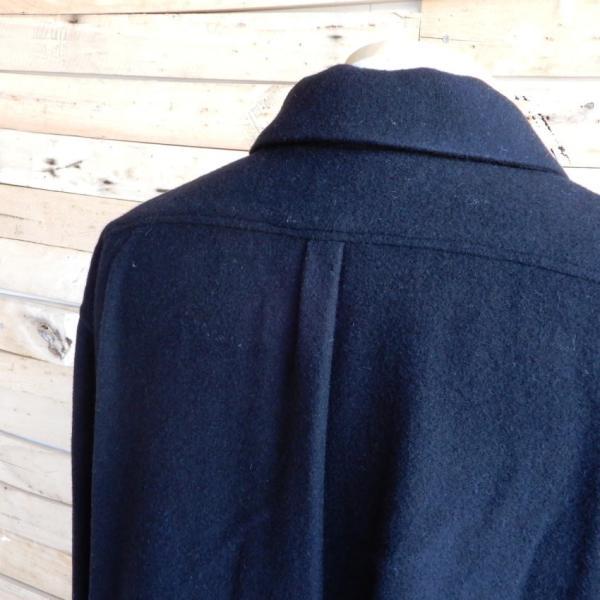 LOLO(ロロ) モッサ裏なしコート ブラック|abracadabra|11