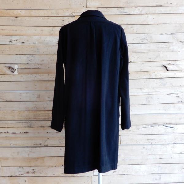 LOLO(ロロ) モッサ裏なしコート ブラック|abracadabra|10
